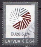 Latvia Used EU Stamp - Latvia