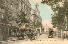 75  PARIS 18e AR   MONTMARTRE LA RUE ORDENER - Arrondissement: 18