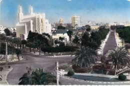 Casablanca - Rond-Point Jean Mermoz. - Casablanca