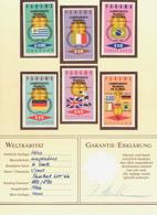 Panama - 1966 - Mi 885-890 - Ungezähnt - 1966 – Inglaterra