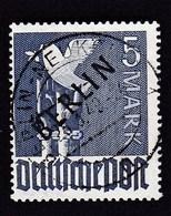 Germany Berlin 5 Mark (Pigeon Of Peace) 1948, 26 3 49, Gepr.8 Sign., Mi 20, SCHWARZAUFDRUCK BERLIN - Berlin (West)