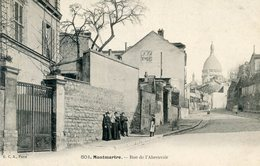 75  PARIS 18e AR   MONTMARTRE   RUE DE L'ABREUVOIR - Arrondissement: 18