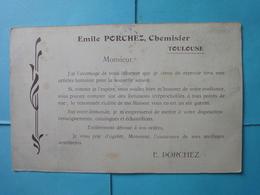 """Toulouse-cpa Publicitaire Au Verso """"Emile Porchez Chemisier""""-recto Photo Magazin - Toulouse"""