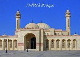 Bahrain Manama Al Fateh Mosque New Postcard - Bahrein