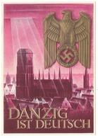Propaganda   - Danzig Ist Deutsch  - Entier Postal Du WHW  - Dessin De Klein - Guerre 1939-45