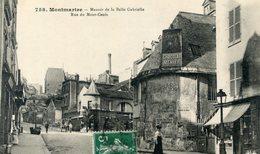75  PARIS 18e AR   MONTMARTRE  MANOIR DE LA BELLE GABRIELLE  RUE DU MONT CENIS - Arrondissement: 18