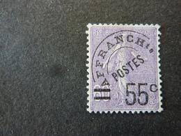 FRANCE, Année 1922-47, Timbre Préoblitéré Type Semeuse Lignée YT N° 47 Neuf Sans Gomme (cote 54 Euros) - Préoblitérés