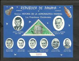 PANAMA SPACE KOSMOS MICHEL BLOCK 97a MINT - Panama