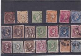 20 TIMBRES De GRECE - Collections