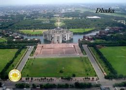 Bangladesh Dhaka National Assembly Aerial Vuew New Postcard Bangladesch AK - Bangladesch