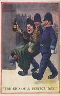 """2 Policemen And A Drunk, """"The End Of A Perfect Day."""" , 00-10s - Police - Gendarmerie"""