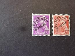 FRANCE, Année 1922-47, Timbre Préoblitéré YT N° 78 Et 79 Neufs MH** - Préoblitérés