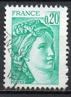 FRANCE N° 1967 O Y&T 1977-1978 Sabine - 1977-81 Sabine Of Gandon
