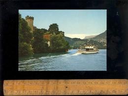 DUINGT Haute Savoie 74 : Bateau La Belle Etoile Sur Le Lac D'Annecy Devant La Tour Du Château - Duingt