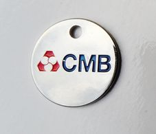 Jeton De Caddie Métal CMB - Moneda Carro