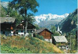 Val D' Aosta - Gressoney - Costruzioni Tipiche E Monte Rosa - Fg Vg - Italia