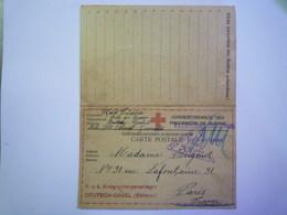 GP 2019  - 1320  DEUTSCH-GABEL (Böhmen)  1917  :  Kriegsgefangenen-Korrespondenz   XXX - Guerre 1914-18