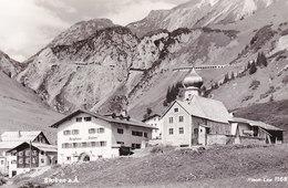 AK465 Ansichtskarte Berghaus Stuben, Gelaufen 1958, Frankiert Mit 1 Schilling Aus Trachtenserie - Stuben