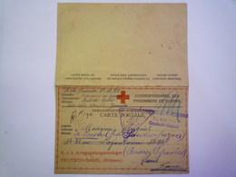 GP 2019  - 1323  DEUTSCH-GABEL (Böhmen)  1917  :  Kriegsgefangenen-Korrespondenz   XXX - Guerre 1914-18
