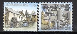 LUXEMBOURG - N°1379/80 ** (1997) Moulins à Eau - Lussemburgo