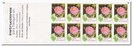 Ecuador 1990, Postfris MNH, Flowers ( Booklet, Carnet ) - Ecuador