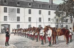 Illustration Militaria - Cavalerie Dragons : L'appel Avant La Manœuvre - Barracks