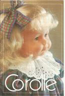 POUPEE COROLLE ... CATALOGUE 1987 .. 32 PAGES EN COULEURS .. CATHERINE REFABERT - Poupées