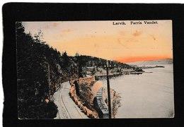 Norway-Larvik,Farris Vandet 1910 - Antique Postcard - Norvegia
