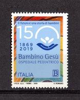 ITALIA  :  Ospedale Pediatrico Bambin Gesù - Tariffa B  ( 1,10 €. )  1 Val. MNH**  19.03.2019 - 1946-.. République
