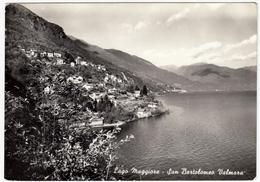 LAGO MAGGIORE - SAN BARTOLOMEO VALMARA - CANNOBIO - VERBANIA - 1961 - Verbania