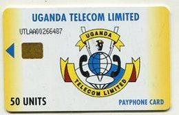TK 07674 UGANDA - Chip  50 Units - Uganda