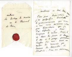 ADOLPHE THIERS (1797-1877) LAS 1842 ( Président De La République De 1871 à 1873) AUTOGRAPHE AUTOGRAPH - Autogramme & Autographen
