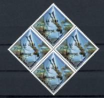 Sao Tome And Principe, 1977, Diving, Fishing, Marine Life, Fish, MNH Block With Inverted Overprint, Michel 463 Error - Sao Tome Et Principe
