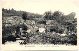 58 MAONSAUCHE - La Cure Et Le Pont De Champgazon - Montsauche Les Settons