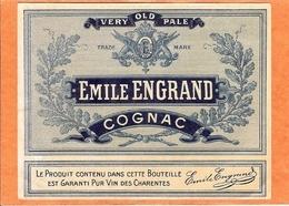 ETIQUETTE - COGNAC - EMILE ENGRAND - ANNÉE 1910 / 1920 - Etiquettes