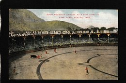 Lima,Peru! 5000 American Sailors At A Bullfight Feb 24,1909 - Antique Postcard - Perù