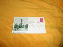 ENVELOPPE FDC MARIANNE DE BEQUET..1971..CACHETS MARIANNE PREMIER JOUR 974 SAINT BENOIT + TIMBRE SURCHARGE - Isola Di Rèunion (1852-1975)