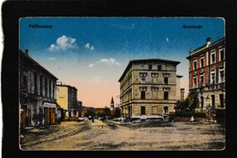 Fellhammer,Poland-Hauptstrabe,businesses,stores 1910s - Antique Postcard - Poland
