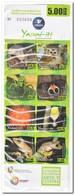 Ecuador 2012, Postfris MNH, Animals, Birds, Flowers ( 2 Booklets, Carnets ) - Ecuador