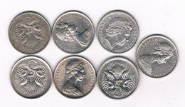 LOT 5 CENTS AUSTRALIE /4415/ - Monnaie Décimale (1966-...)