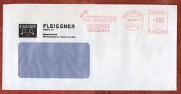 Brief, Francotyp-Postalia B24-2103, Fleissner, 80 Pfg, Egelsbach 1987 (74430) - BRD