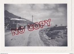 Au Plus Rapide Autobus Berliet Col De Vergio Corse Juin 1958 - Automobiles