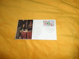ENVELOPPE FDC CENTENAIRE DE L'UNION POSTALE UNIVERSELLE DE 1974...CACHETS 974 SAINT ANDRE..+ TIMBRE - Storia Postale