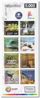 Ecuador 2015, Postfris MNH, Animals, Birds, Flowers, Boats, Waterfall, Nature ( 2 Booklets, Carnets ) - Ecuador