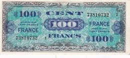 TRESOR 100 FRANCS FRANCE 1945 Série 2 * 73810732 * SPL (A) - Schatkamer