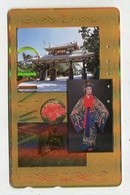 TK 07721 JAPAN - 110-011 Japanese Culture - Special Surface Card - Cultural
