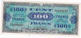 TRESOR 100 FRANCS FRANCE 1945 Série 2 * 78499218 * SPL (B) - 1945 Verso France