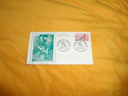 ENVELOPPE FDC LE TRAVAIL DU VERRE DE 1971.. CACHETS 974 SAINT DENIS..+ TIMBRE - Storia Postale