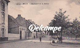 Melle - Boulevard De La Station - Melle