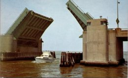 Maryland Ocean City Highway 50 Bridge Opens To Pass Marlin Fishi